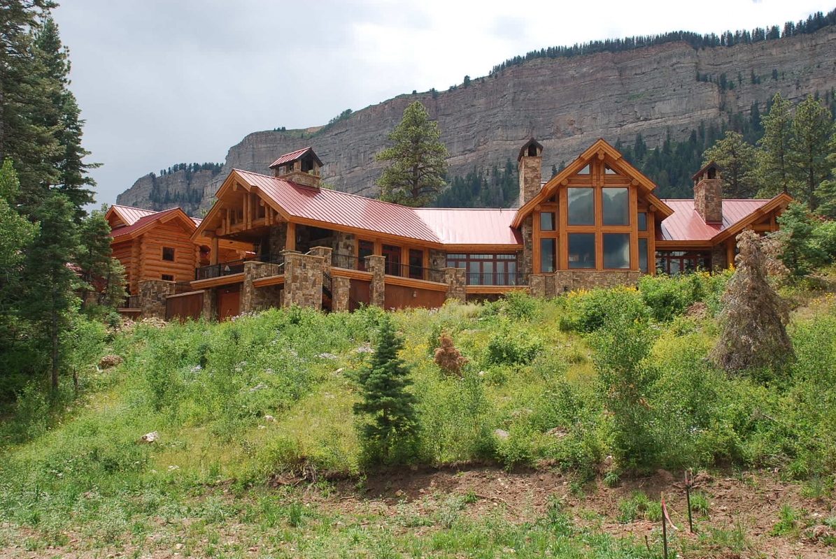 View of the Durango residence