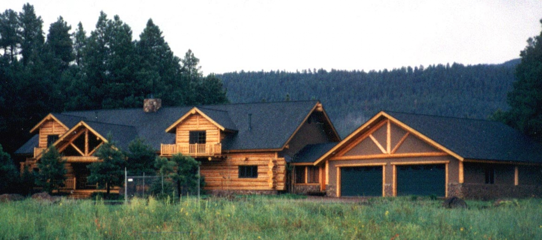 Log Cabin residence in Flagstaff