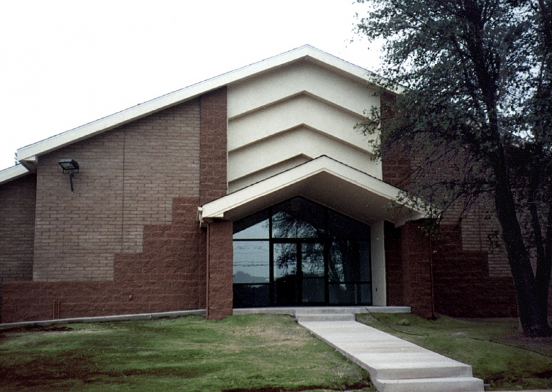 Payson Christian Church entrance