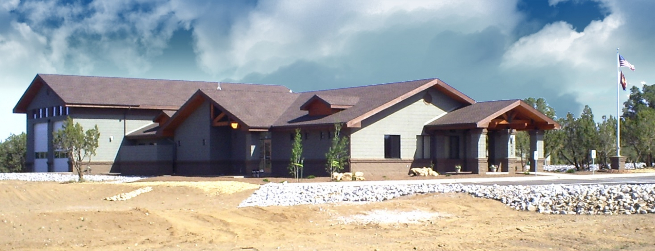 Summit Fire District Station #31 nearing completion