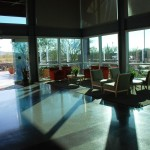 Inside a typical lobby at Gore's Phoenix Campus